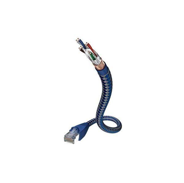 cabo de rede Inakustik 00480302 2 m Cat6 SF/UTP (S-FTP) Azul/Prateado