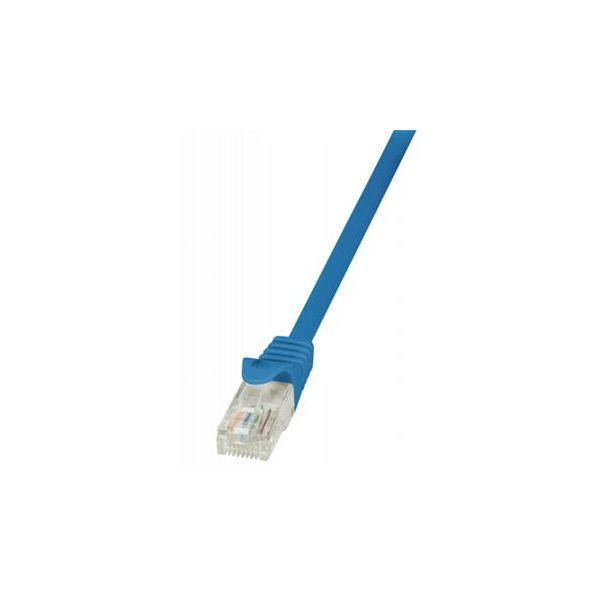 cabo de rede OEM TCU55U003BLNN 0.5m Cat5e U/UTP (UTP) Azul