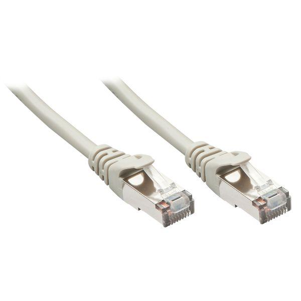 cabo de rede Lindy 48335 0.5m Cat5e F/UTP (FTP) Cinzento