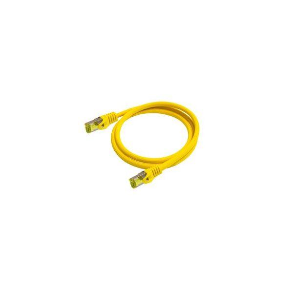 cabo de rede Python 8070PY-075Y 7,5 m Cat7 SF/UTP (S-FTP) Amarelo