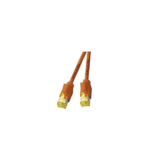 cabo de rede EFB Elektronik K8560OR.3 3m Cat6a S/FTP (S-STP) Laranja