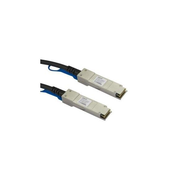 cabo de rede StarTech.com QSFPH40GCU3M 3m Preto