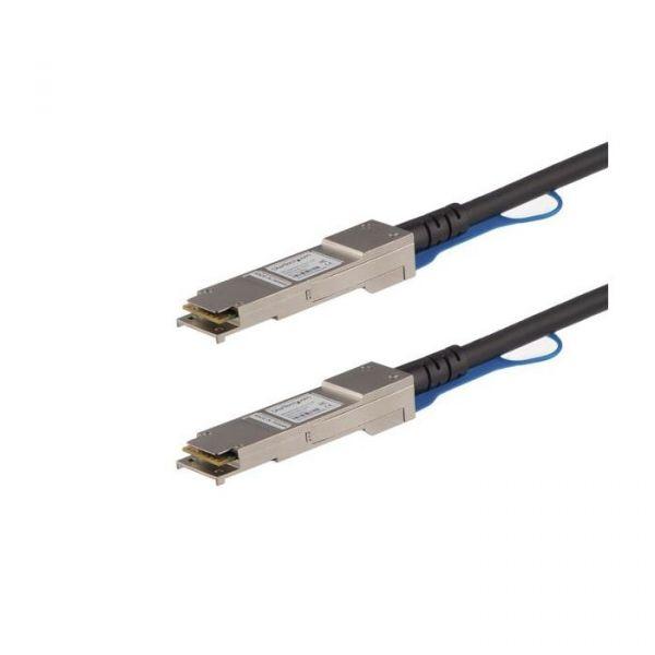 cabo de rede StarTech.com QSFP40GPC05M 0.5m Preto
