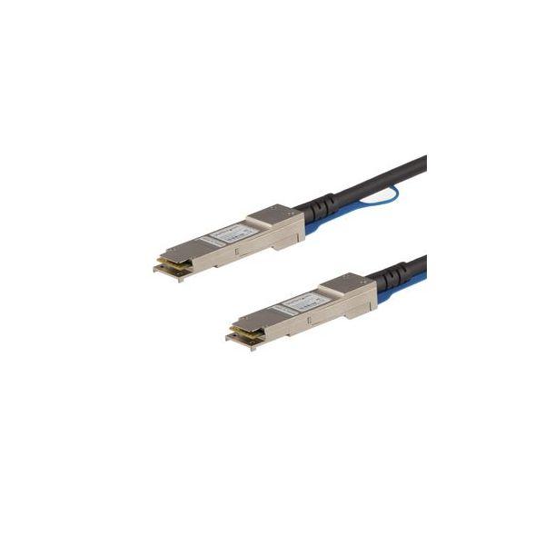 cabo de rede StarTech.com QSFP40GAC7M 7m Preto