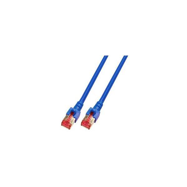 cabo de rede EFB Elektronik K5513.50 S/FTP (S-STP) Azul 50m Cat6