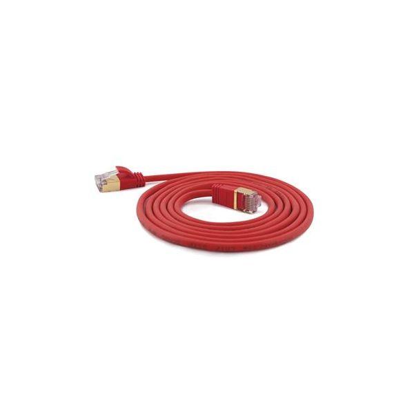 cabo de rede Wantec 7161 2 m Cat7 S/FTP (S-STP) Vermelho