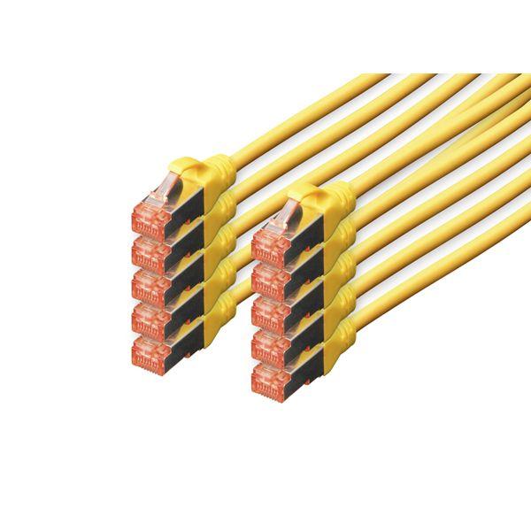 cabo de rede Digitus DK-1644-050-Y-10 5m Cat6 S/FTP (S-STP) Amarelo