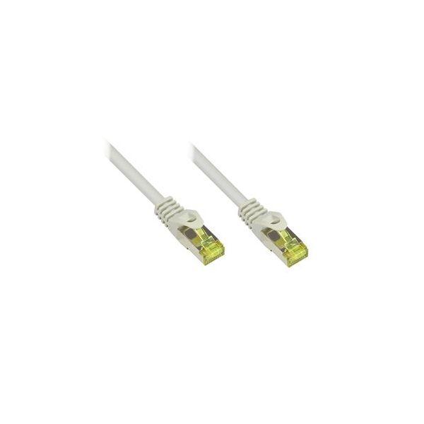 cabo de rede Alcasa 20m Cat7 S/FTP S/FTP (S-STP) Grey