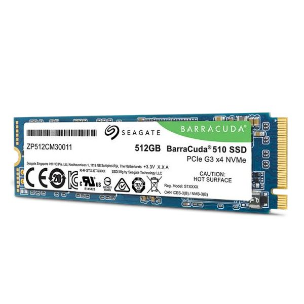 Seagate 512GB FireCuda 510 SSD PCIE - ZP512CM30041
