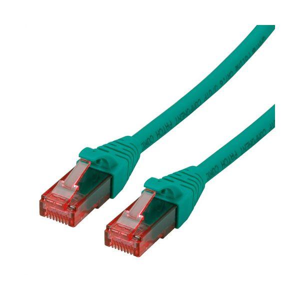 cabo de rede ROLINE 21152530 0.5m Cat6 U/UTP (UTP) Verde