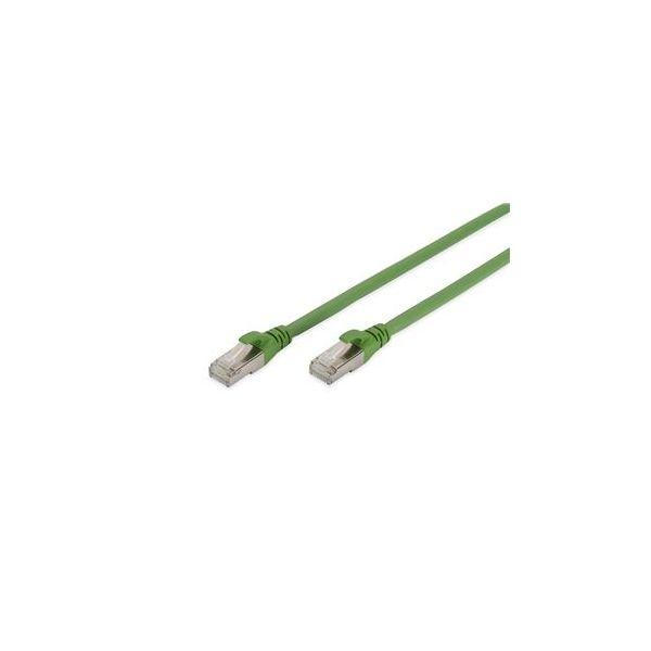 cabo de rede Digitus DK-1644-A-PUR-050 5 m Cat6a S/FTP (S-STP) Verde