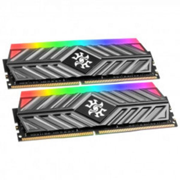 Memória RAM ADATA 8GB XPG Gammix D41 DDR4 UDIMM 3200 288pin GREY - AX4U320038G16-DT41