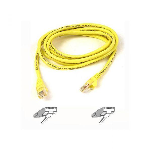 Belkin Cabo de Rede CAT6 Network 0,5 M Utp Yellow Snagless