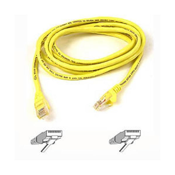 Belkin Cabo de Rede CAT5e Network 10,0 M Utp Yellow Snagless