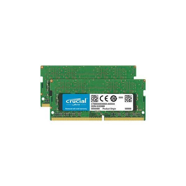 Memória RAM Crucial 32GB DDR4 3200MHz 16GBx2 DR x8 unbuffe - CT2K16G4SFD832A