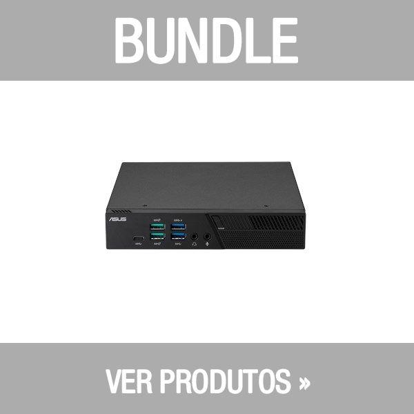 Asus Bundle Mini PC PB60 Intel Core i5-8400T 8GB 128GB M.2 SSD - PB60-B5136MD + Teclado Rato Asus Wireless W5000 Grey