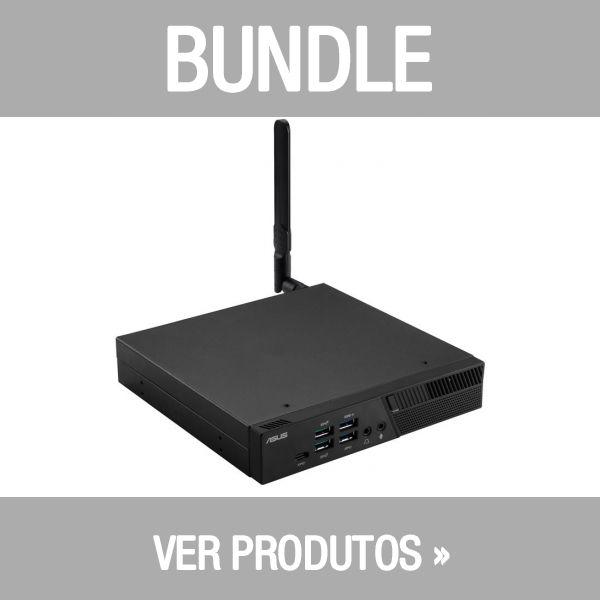 Asus VivoMini PB60-B3070MC i3-8100T 4GB 128GB - 90MS01E1-M00700 + Teclado Rato Asus Wireless W5000 Grey