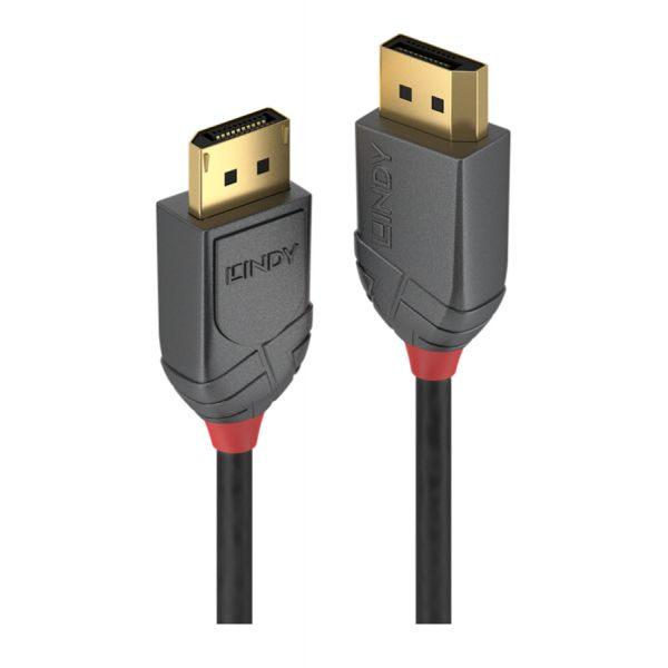 LINDY Cabo DisplayPort Anthra Line Macho/Macho 3m - 36483