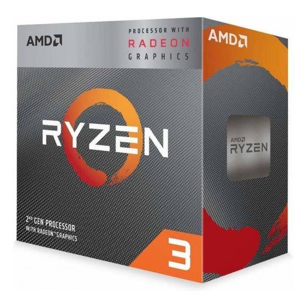 AMD Ryzen 3 3200G Quad-Core 3.6GHz AM4 BOX - YD3200C5FHBOX