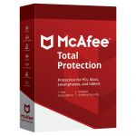 McAfee Total Protection 10 Dispositivos 1 Ano - 731944713809