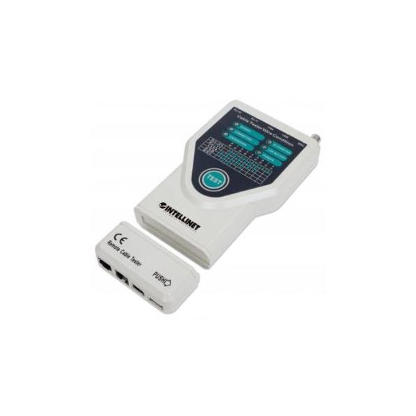 Intellinet Kabeltester 5-in-1 RJ45/RJ11/USB/FireWire/10Base - 780094