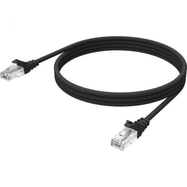 Vision 3m Black CAT6 UTP cable - TC 3MCAT6/BL
