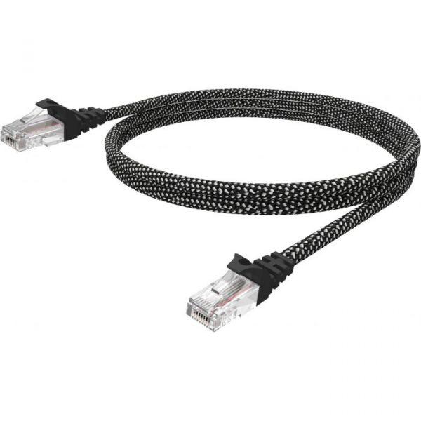 Vision 3m Braided CAT6 UTP cable - TC 3MCAT6/HQ