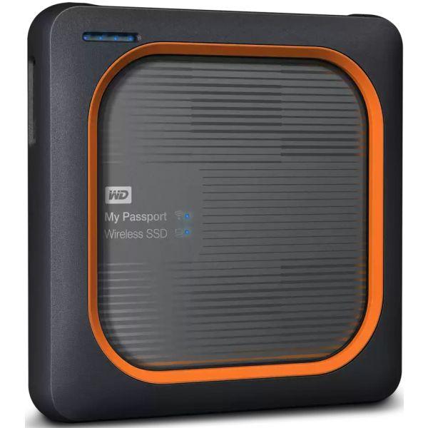 Disco Externo Western Digital 500GB My Passport Wireless - WDBAMJ5000AGY-EESN