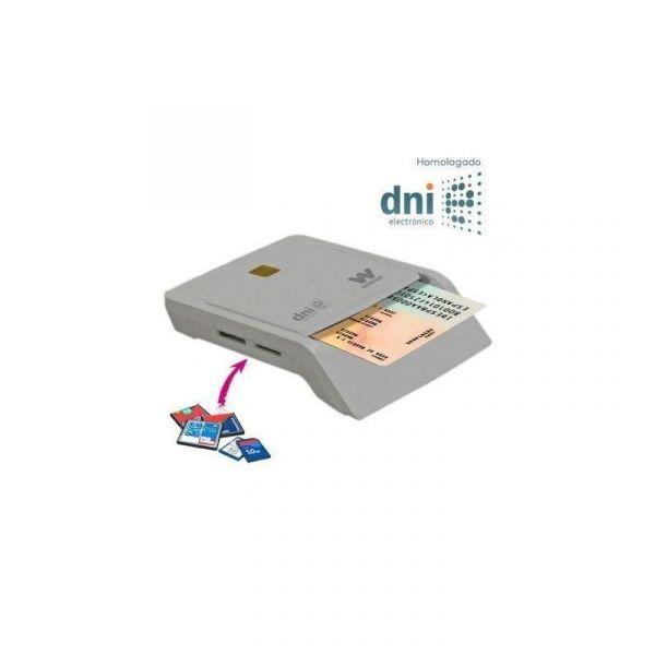 Woxter Leitor de Cartões Cidadão USB2.0 + CardReader White