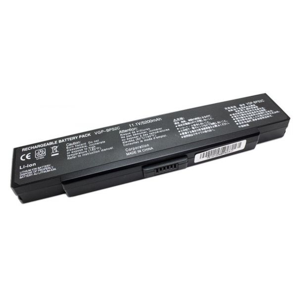 Bateria P/ Portátil Compatível Sony Vaio 5200MAH BPL2C, BPS2, BPS2A, BPS2B, BPS2C - BATPORT-424