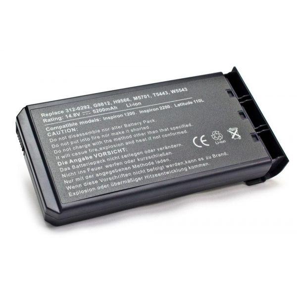 Bateria P/ Portátil Compatível Dell 5200mAh 312-0292, G9812, H9566, M5701 - BATPORT-160