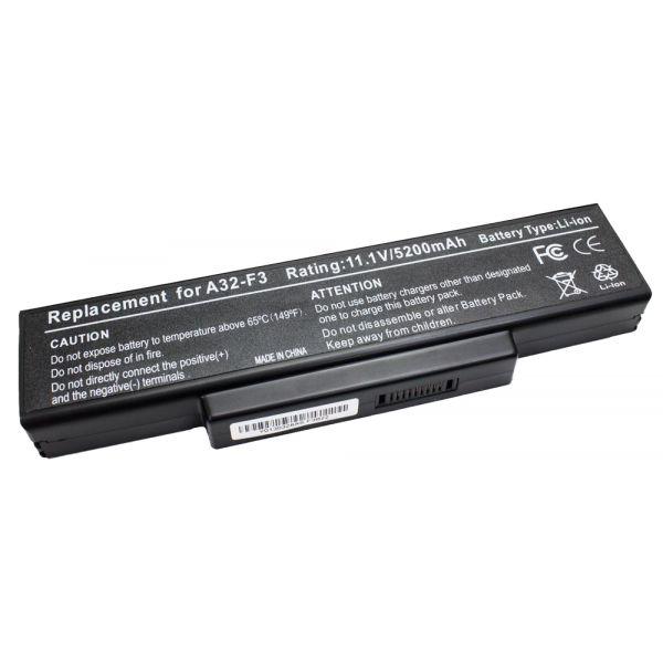 Bateria P/ Portátil Compatível Asus A32-F3 4400mAh - BATPORT-135