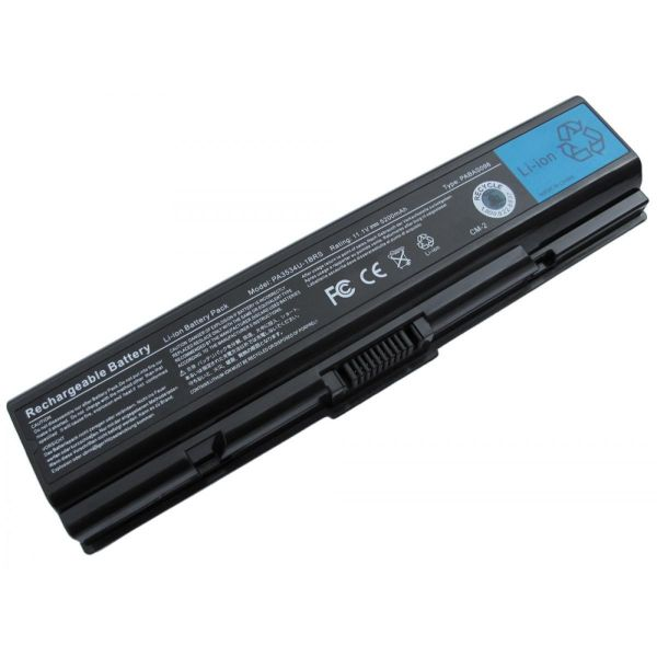 Bateria P/ Portátil Compatível Toshiba 6600mAh L500 - BATPORT-458