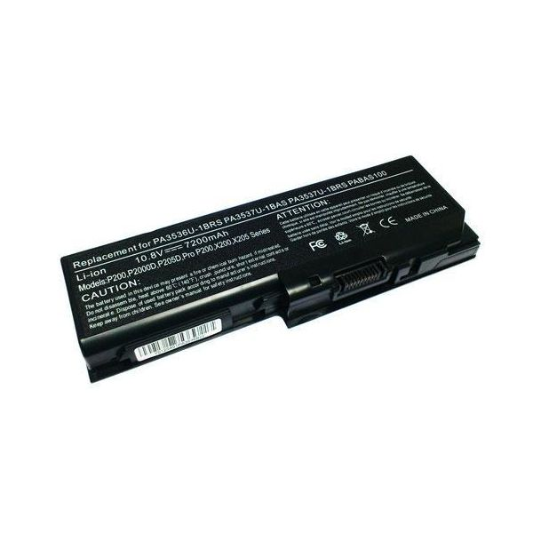 Bateria P/ Portátil Compatível Toshiba Satellite 7200mAh P300, X200, X205 - BATPORT-477