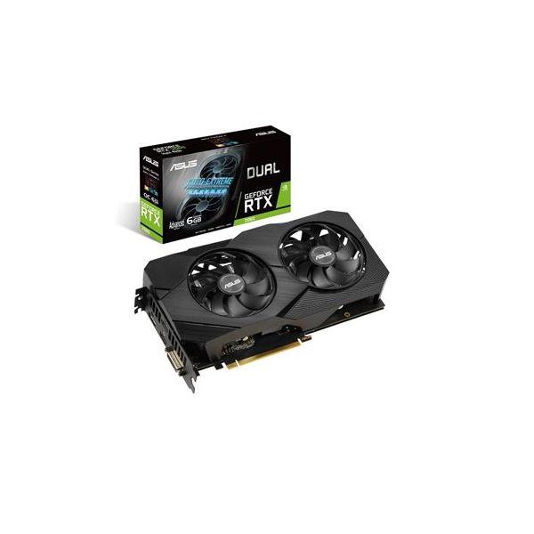 Asus GeForce RTX2060 Dual 6GB A6G - 90Yv0Ch3-M0Na00