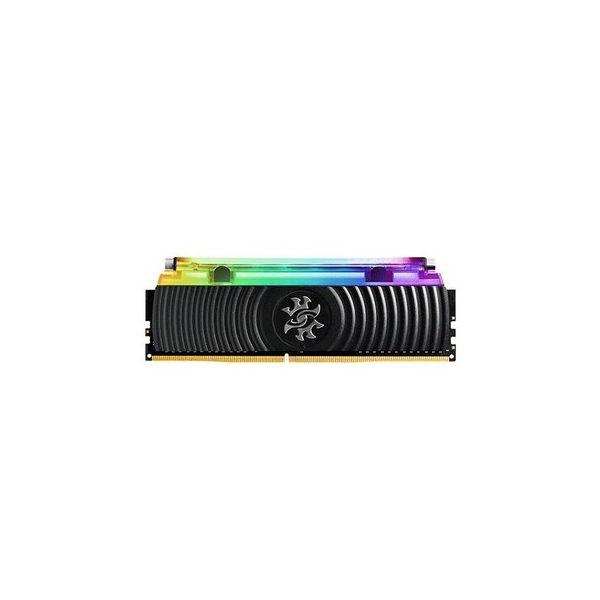 Memória RAM ADATA 16GB DDR4 CL16 3200Mhz XPG SPECTRIX D80 RGB Black - AX4U3200316G16-SB80