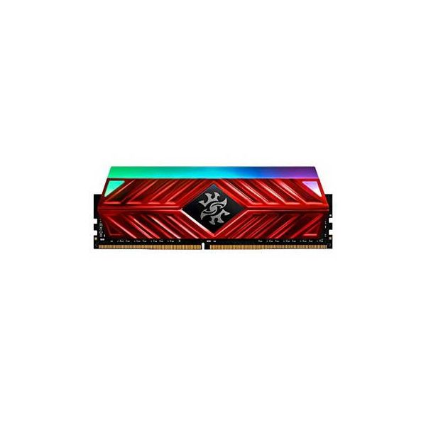 Memória RAM ADATA 16GB DDR4 CL16 3200Mhz XPG SPECTRIX D41 RGB Red - AX4U3200316G16-SR41
