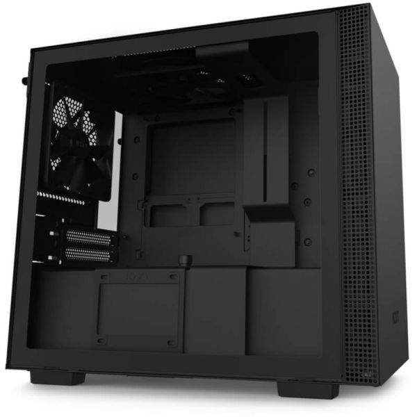 NZXT Caixa H210 Preta (Mini-ITX) - CA-H210B-B1