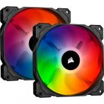 Corsair Ventoinha 140mm 1150RPM iCUE SP140 RGB Pro Performance 4 Pinos PWM (Twin Pack) - CO-9050096-WW