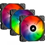 Corsair Ventoinha 120mm 1400RPM iCUE SP120 RGB Pro Performance 4 Pinos PWM (Triple Pack) - CO-9050094-WW