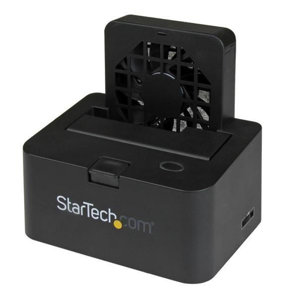 STARTECH Docking Station p/Discos Rígidos USB B 3.0 (3.1 Gen 1) + eSATA - SDOCKU33EF