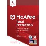 McAfee Total Protection 5 Dispositivos 1 Ano - 731944713786