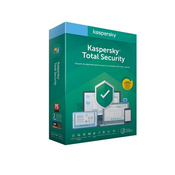 Kaspersky Software Total Security 2020 3 User 1 Ano BOX