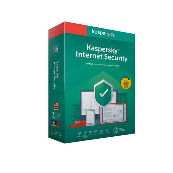 Kaspersky Software Internet Security 2020 MD 3 User Renewal 1 Ano BOX