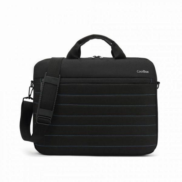 CoolBox Mala para Portátil 15.6'' Black/Blue - COO-BAG15-1