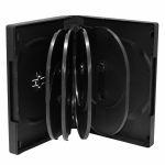 MediaRange Pack 3 Capa DVD para 10 discos, 33mm, Preta - BOX35-10