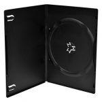 MediaRange Pack 10 Capa DVD slim para 1 disco, 7mm, Preta - BOX33