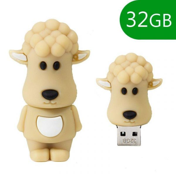 Pen Drive USB 32GB Silicone Oveja