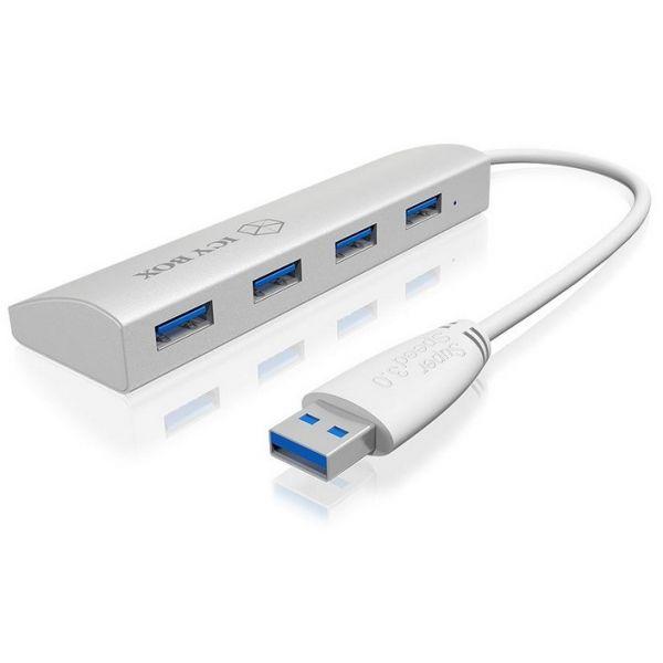 Icy Box IB-AC6401 4-Port USB 3.0 Hub - 70412