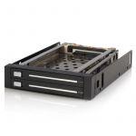 """Startech Painel Frontal P/drive 8,89 cm (3.5"""") Preto - HSB220SAT25B"""